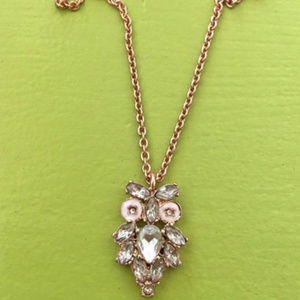 Kate Spade NY Owl Crystal Necklace NWT 60% off